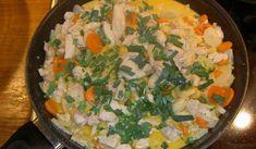 Gott och enkelt! Kan varieras med olika wokgrönsaker.