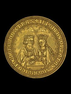 Medal believed to commemorate the marriage of Henry VII and Elizabeth of York