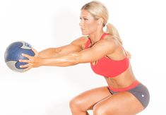 Medicine ball squat | 5 news squats to try now | PICTURE | Women's Health & Fitness