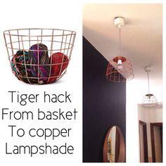 #Tiger #hack #diy #copper #lampshade by