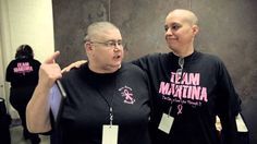 Martina McBride fans shave their heads to raise money for cancer research