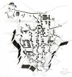 alison + peter smithson - berlin hauptstadt, 1957
