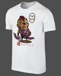 Dota 2 t shirt Q version hero Magina tee shirts xxxl short sleeve
