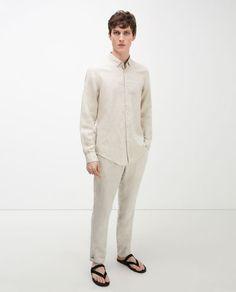 6627e224 РАСПРОДАЖА | Мужские рубашки сезона весна – лето | ZARA Российская  Федерация Zara Official Website,