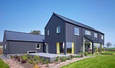 Metal Farmhouse w/ Detached Garage & Guest Living Quarters! (12 Pictures) | Metal Building Homes