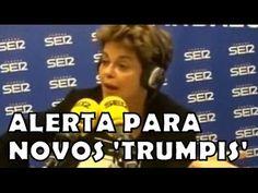 Dilma cansou de passar vergonha no Brasil e foi passar na Espanha