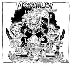 Learn everything you need to know about Mercantilism for the AP US History. - Learn everything you need to know about Mercantilism for the AP US History. Written by APUSH grader - Ap European History, Ap Us History, World History Teaching, American History Lessons, History Posters, History Education, Ancient History, World History Facts, World History Lessons