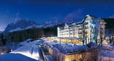 Tour Cristallo, a Luxury Collection Resort & Spa, Cortina d'Ampezzo with our photo gallery. Our Cortina d'Ampezzo hotel photos will show you accommodations, public spaces & more. Best Ski Resorts, Hotels And Resorts, Best Hotels, Luxury Hotels, Snow Resorts, Amazing Hotels, Top Hotels, Amazing Places, Beautiful Places