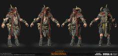 Total War : Warhammer - Bray Shaman, Tom Parker on ArtStation at https://www.artstation.com/artwork/gV1DQ