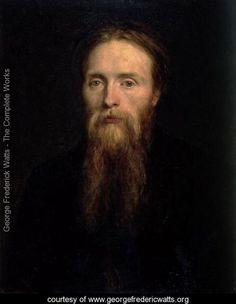 Sir Edward Coley Burne-Jones, 1870, portrait by George Frederick Watts