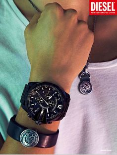 Diesel men watch
