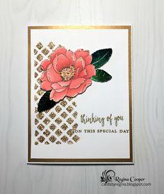 Cards By Regina: 50th Anniversary Card