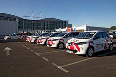 Le Marché de Rungis met à disposition sa flotte de véhicules électriques Renault Zoé