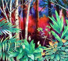 El artista, un guardián de la selva