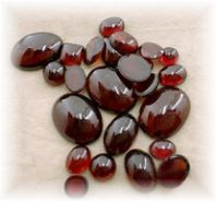 "GARNET - The ""Sex Stone"" especially for those lacking sexual fulfilment. Garnet strengthens the life force and provides for the spontaneous availability of energy when needed."