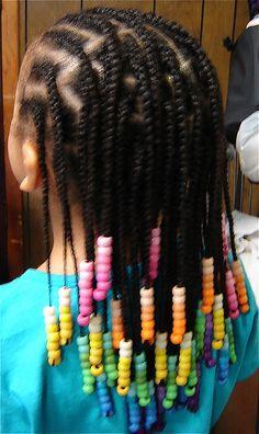 Hairstyles For Little Girl Black # scalp Braids tips Toddler Braided Hairstyles, Lil Girl Hairstyles, Black Kids Hairstyles, Natural Hairstyles For Kids, Natural Hair Styles, Black Hairstyle, Kids Braids With Beads, Braids For Kids, Girls Braids
