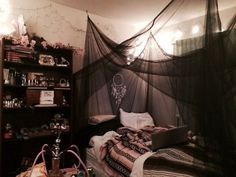 Teen Bedroom Grunge Best Of Goth Teen Bedroom – Biggreenub Bedroom grunge Bedroom emo Emo Bedroom, Grunge Bedroom, Tumblr Bedroom, Tumblr Rooms, Room Ideas Bedroom, Teen Girl Bedrooms, Teen Room Tumblr, Black Bedrooms, Bedroom Colors