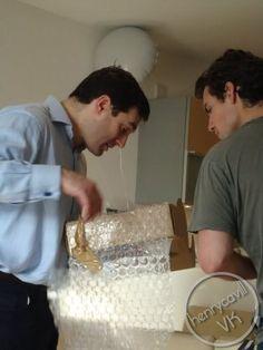 Henry e seu irmão Piers!!! #AlwaysHenryCavill