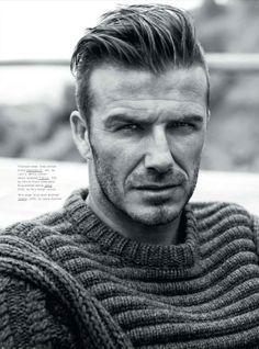David Beckham pre módny magazín Esquire s účesom, za ktorý by sa nemusel hanbiť nikde na svete, pretože toto je jeden z trendov pre pánske účesy v roku 2014.