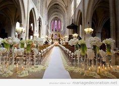 Deco eglise mariage