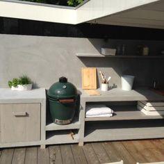 Buitenkeuken | MAEK meubels & keukens...en misschien toch maar kiezen voor een green egg :)