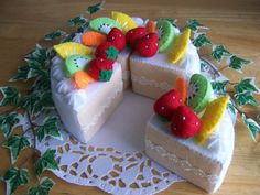 BOX CAKE FELT - Buscar con Google