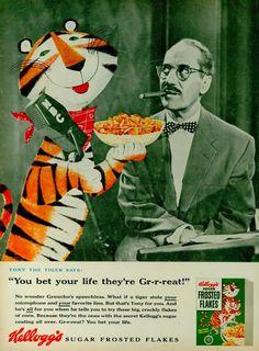 En 1951 Leo Burnett creó al maravilloso e inolvidable Tigre Tony de Zucaritas, uno de los íconos de la publicidad del siglo XX que aun está vigente.  ¿Conocías al primer Tigre Tony?  Fuente: Leo Burnett Colombia