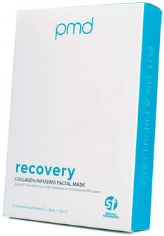 Pmd PMD Recovery: Anti-Aging Collagen Infusing Sheet Mask #AntiAgingFacial Cucumber Face Mask, Wrinkled Skin, Anti Aging Facial, Younger Looking Skin, Facial Masks, Skin Care Tips, Collagen, Sensitive Skin, Sheet Mask