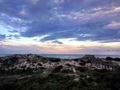 Purple Sunset on Fernandina Beach, Florida