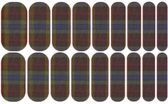 Attention Outlander Fans! Fraser Tartan Nail Wraps!  awaring.jamberrynail.net awsjams@yahoo.com