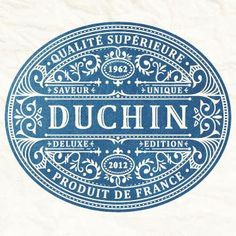 Beautiful classical typography. #French