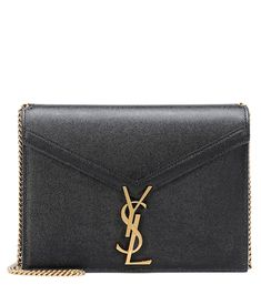 Clutch Portafogli Monogramme Envelope In Pelle - Saint Laurent Leather Belt Bag, Leather Crossbody Bag, Leather Shoulder Bag, Womens Designer Bags, Ysl Bag, Saint Laurent Bag, Small Shoulder Bag, Online Bags, Envelope