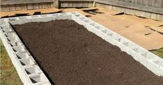 How to Build a Cinder Block Raised Garden Bed Black Friday Sale! Close Top BannerDIY's, Printables, and FUN for your everyday life!How to Build a Cinder Block Raised Garden BedLast year Raised Garden Beds Cinder Blocks, Cinder Block Garden, Building Raised Garden Beds, Raised Beds, Diy Garden Bed, Easy Garden, Vegetable Garden Tips, Veggie Gardens, Colorful Garden
