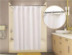 Econocord Vinyl Shower Curtain