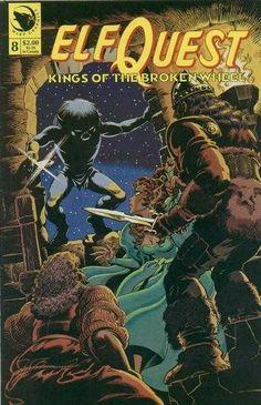 """ElfQuest: Kings of the Broken Wheel"" # 8"