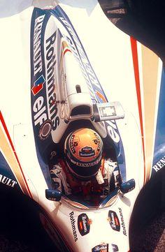 Ayrton Senna, Williams FW16, 1er mai 1994, quelques dizaines de minutes avant la fin d'un weekend tragique à Imola...