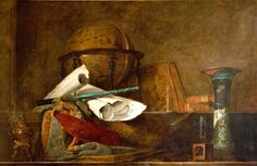 The Sciences - Attributes of Science - Jean-Baptiste Chardin