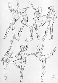 Hier einige anatomische Studien und Skizzen (Sport). -   # Art And Illustration, Illustrations Posters, Fashion Illustrations, Drawing Sketches, Art Drawings, Anatomy Sketches, Dancing Drawings, Body Sketches, Dancing Sketch