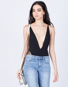 How to style a bodysuit    2020AVE style inspo. Naomi Plunging Bodysuit -  Plunging a12d63c1d