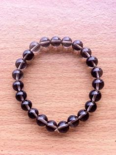 Natural Smoky Quartz Bracelet of 7 Inches by Crystalcures4u, $21.00