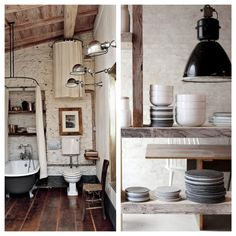 Vintage industrial lighting interiors blog