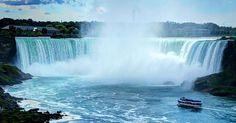 Pontos turísticos em Niagara Falls #viagem #canada #viajar