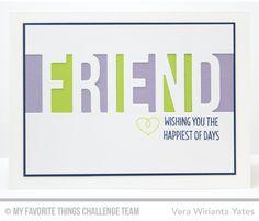 MFT Card Challenges: MFT Color Challenge #14