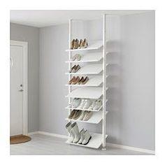 "ELVARLI Shoe shelf, white - 31 1/2x14 1/8 "" - IKEA"