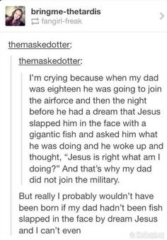 Another reason why we need Jesus :)