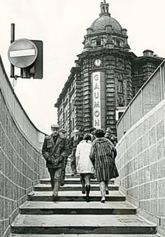 Theatre Square Subway, Nottingham, c 1971.i work with a bloke who bricked this subway up,its still there complete with the public toilets,and little shop they just blocked it up filled in the steps and paved over it,wonder how long it will be till they re open it.