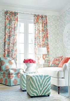 Mixing Patterns in Home Decor |  Pattern Prowess