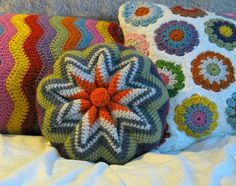 The 'pinwheel', or 'zig-zag pillow' is a classic crochet project. This new pattern is modernized with simplified shaping. It is also streamlined by omitting one feature; these cushions, in decades passed, were usually worked with a hard circular centre covering the join, much like … Read more... →
