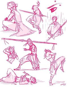 ✔ Anime Poses Fighting Art Reference - New Ideas Action Pose Reference, Figure Drawing Reference, Art Reference Poses, Anatomy Reference, Sword Reference, Hand Reference, Action Posen, Sword Poses, Fighting Poses