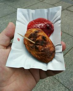 Oscypek, grilled cheese from the Tatra mountains of Poland